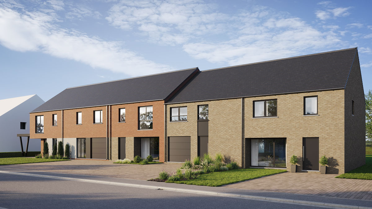 Maisons 2 et 3 façades - Blavier
