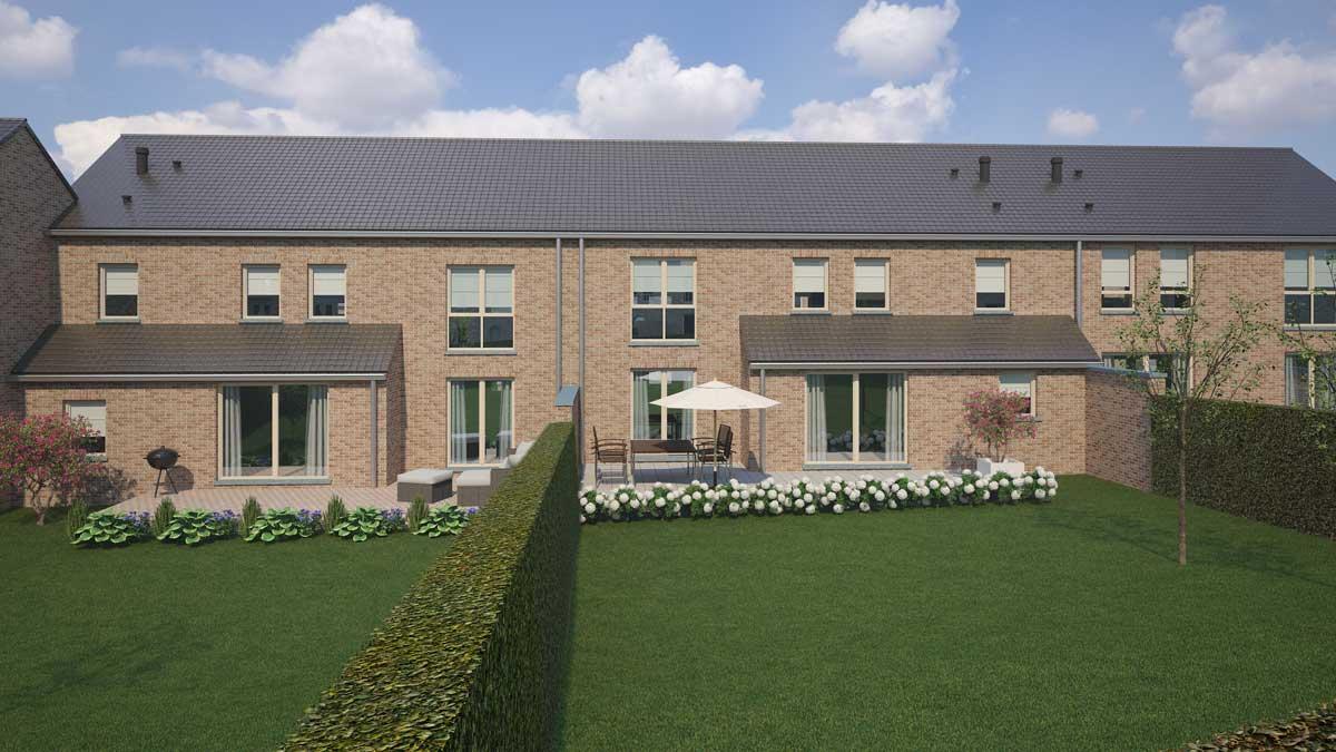 Dernière maison 3 façades - Blavier