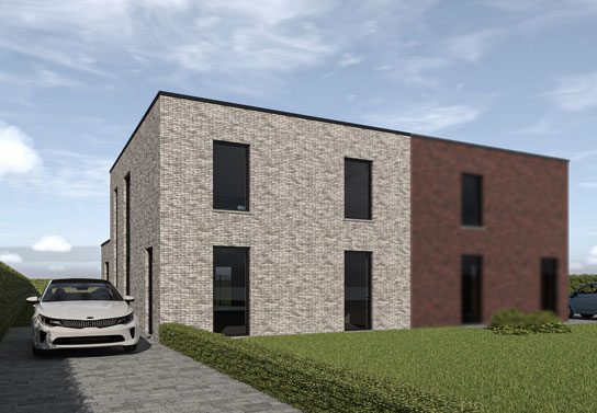 Maison 3 façades - Blavier